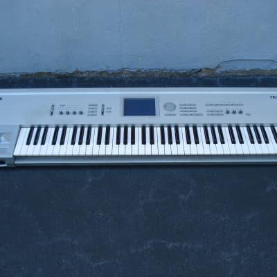 Korg Triton Pro 76 with SCSI expansion, 64 MB, OS 2.5.3 synthesizer keyboard workstation