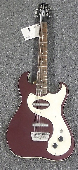danelectro dano 39 63 electric guitar red w reverb. Black Bedroom Furniture Sets. Home Design Ideas