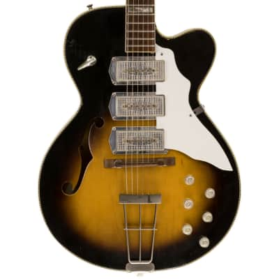 c.1961 Kay Swingmaster K673, Sunburst for sale