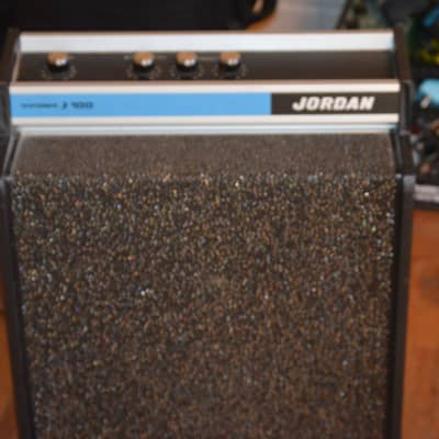 Jordan  j100 performer amplifier guitar bass keyboard synth tremolo  vintage 60's pop psych amp for sale