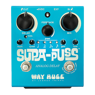 Dunlop WAY HUGE WHE707 Supa Puss Pedal