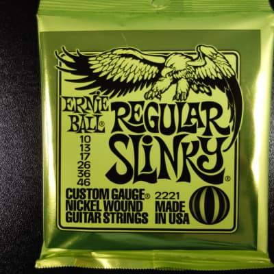 Ernie Ball EB2221 Regular Slinky  010-046 for Electric Guitar