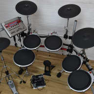 Yamaha DTXtreme IIs electronic drum set kit near MINT!-used drums for sale