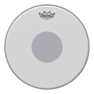 """Remo Controlled Sound X Coated Bottom Black Dot Drum Head 13"""""""