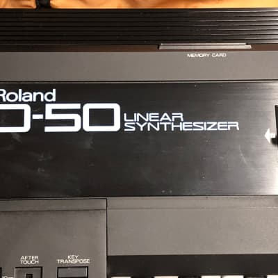 Roland D-50 61-Key Linear Synthesizer Serviced!