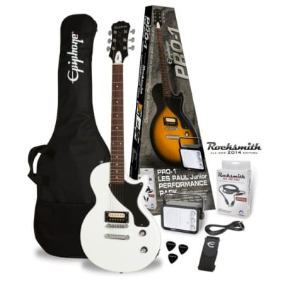 Epiphone PRO-1 Les Paul Jr. Performance Pack - Alpine White for sale