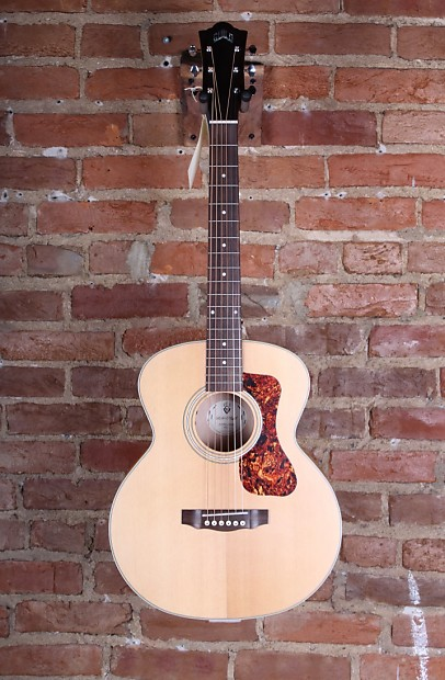 a47c06d20fe Guild Jumbo Junior Maple Acoustic-Electric Guitar Blonde | Reverb