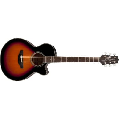 Takamine GF15CE FXC Grand Concert Electro Acoustic, Brown Sunburst for sale