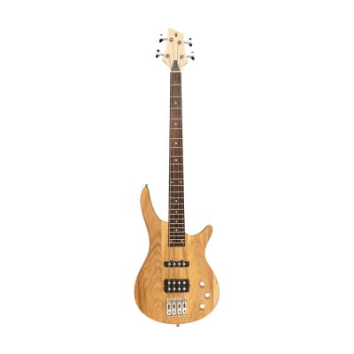 """Stagg """"Fusion"""" Electric Bass Guitar - Natural - SBF-40 NAT"""