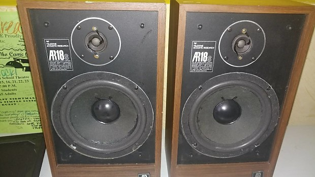 Acoustic Research AR 18 Speakers | Scotty's Cool Stuff