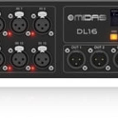 Midas DL16 16 input 8 output Stage Box