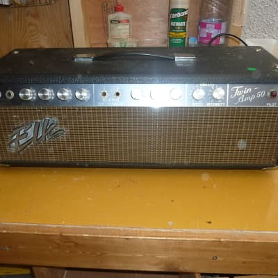 Elk  Twin Amp 50 Late 1960's, Tube Rectified Head for sale