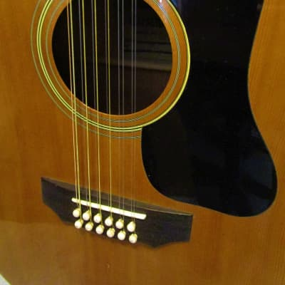 1975 Crestwood 2025 Natural 12 String Acoustic (Japan)