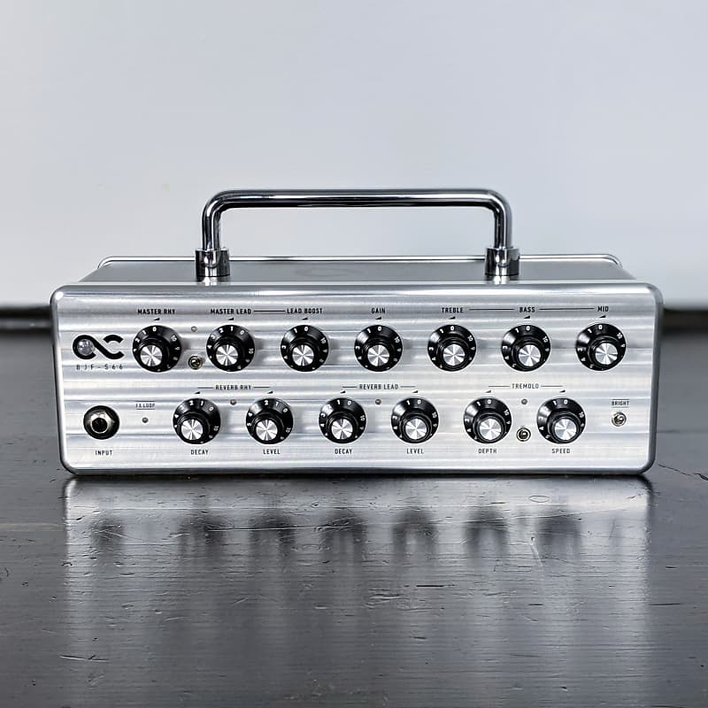 one control bjf s66 compact guitar amp head w foot reverb. Black Bedroom Furniture Sets. Home Design Ideas