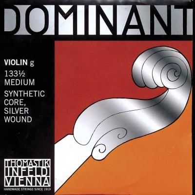Thomastik Thomastik Dominant 1/2 Violin G String Medium Silver-Perlon