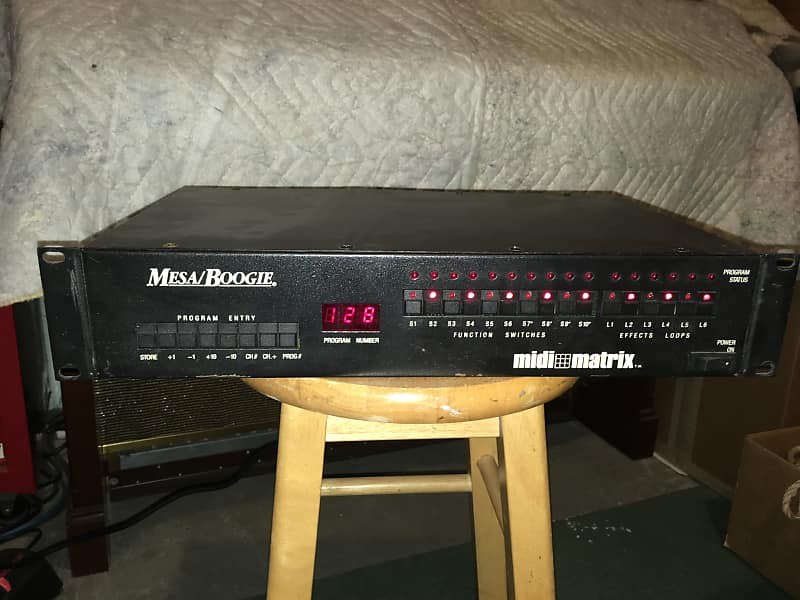 Mesa Boogie Midi Matrix with Abacus & cable   David's Gear