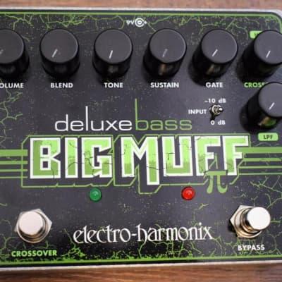 Electro-Harmonix Deluxe Bass Big Muff Pi Fuzz Pedal