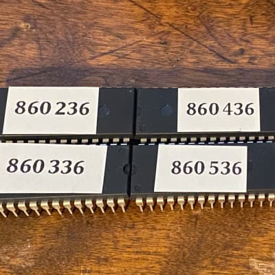 Latest OS & Firmware Korg DSS-1 ROM chips EPROM upgrade set