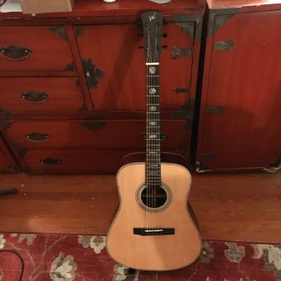 2018 Andrew White Deckers Creek Top of the Line D2010 w/OHSC and K&K Pure Mini.  Tremendous Guitar.