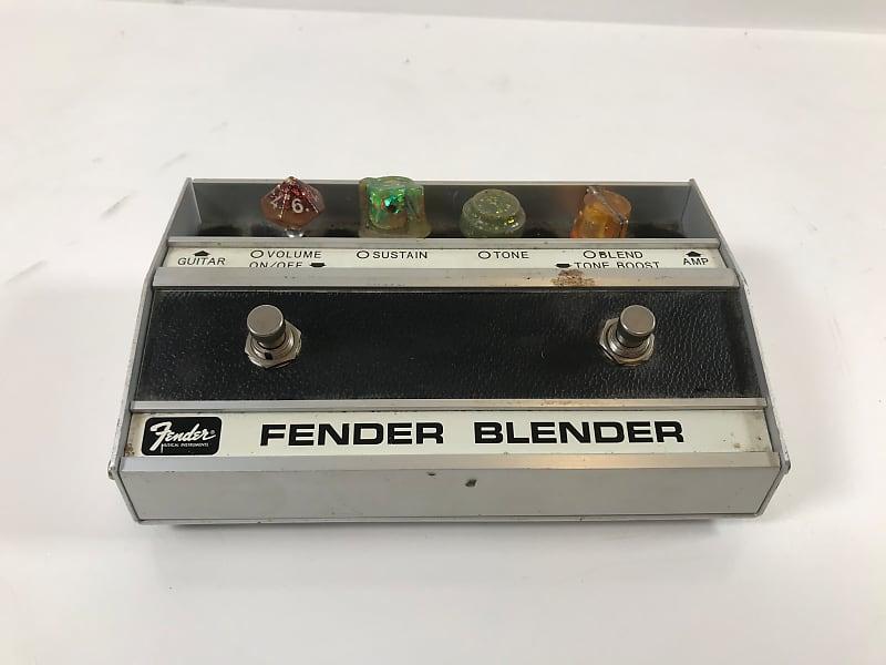 Fender Blender Custom Fuzz Pedal