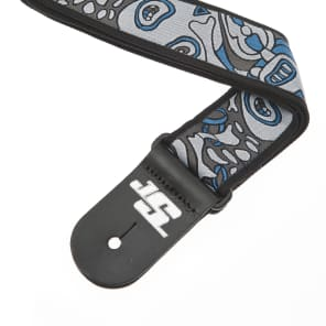 Planet Waves 50mm Joe Satriani Woven Guitar Strap Souls of Distortion