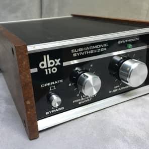 dbx 110 Subharmonic Synthesizer