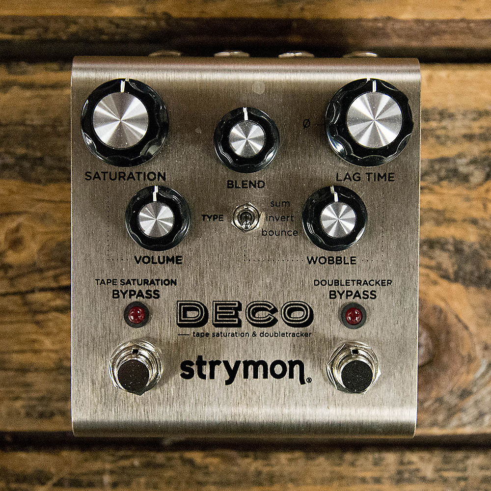 strymon deco tape saturation and doubletracker reverb. Black Bedroom Furniture Sets. Home Design Ideas