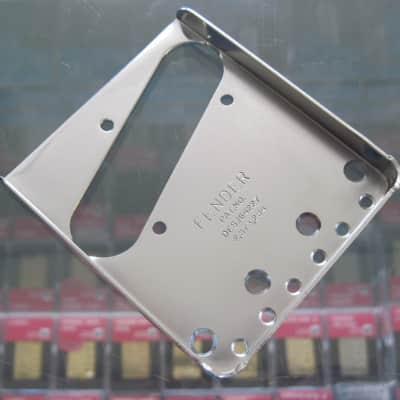 Fender LEFT HAND Vintage PAT # Telecaster Bridge Plate C/S 0058257030