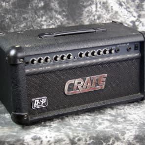 Crate GFX-1200H 100-Watt Solid State Guitar Amp Head with DSP Effects