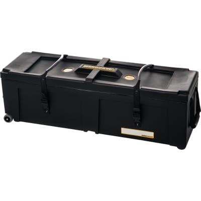 "HARDCASE 28"" x 10"" x 10"" Hardware Case with 2 Wheels HN28W"