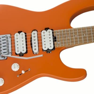 Charvel Pro-Mod DK24 HSH 2PT CM, Satin Orange Crush *Free Charvel Hard Case* for sale
