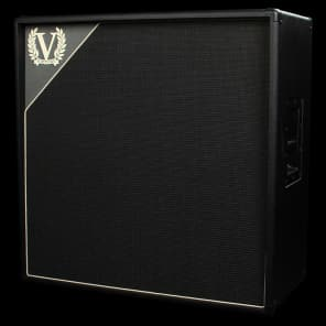 "Victory Amps V412 4x12"" 240-Watt Extension Speaker Cabinet with Celestion Vintage 30s"