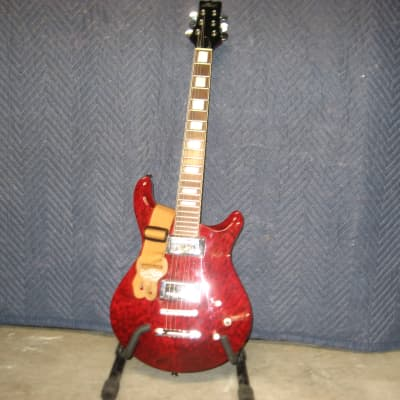 PHIL Electric 6 String.. Red. for sale