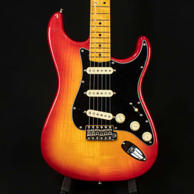 Fender Limited Edition Rarities Flame Ash Top Stratocaster Plasma Red Burst 2019 for sale