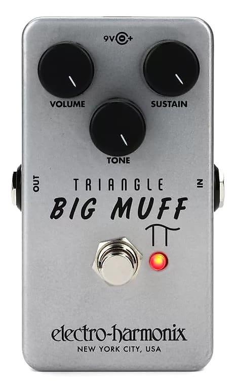 electro harmonix ehx usa big muff pi triangle guitar reverb. Black Bedroom Furniture Sets. Home Design Ideas