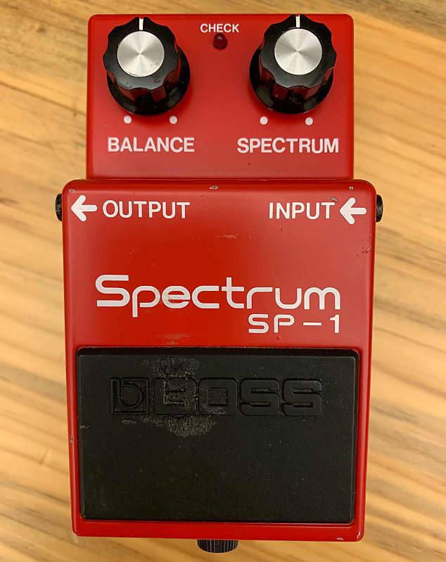 vintage boss sp 1 spectrum 1977 1981 red reverb. Black Bedroom Furniture Sets. Home Design Ideas