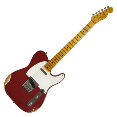 Fender S18 LTD 54 Telecaster Heavy Relic Faded Aged Cimarron Red for sale