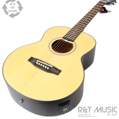 Freshman Maple Ridge FA1BABY Electro Acoustic Travel Guitar in Natural for sale