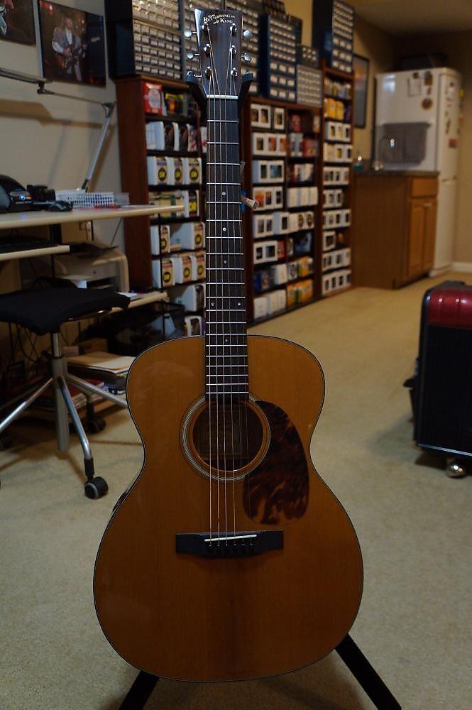 Recording King RO-T16 Torrefied 000 Guitar