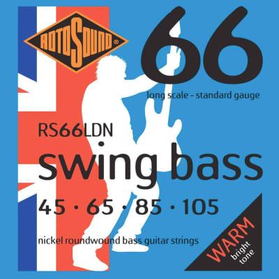 Rotosound RS66LDN Nickel Bass Guitar Strings 45-105