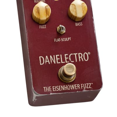 Danelectro The Eisenhower Relic-ed Fuzz Effects Pedal, New, Free Shipping