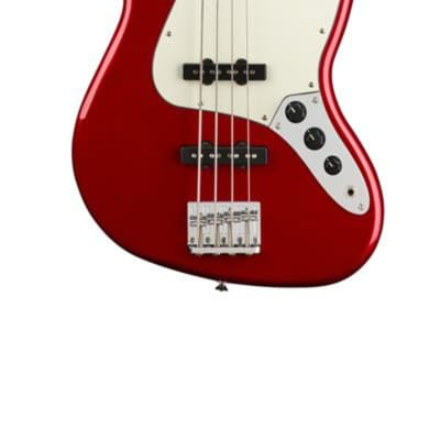 Fender Squier Contemporary Jazz Bass®, Laurel Fingerboard, Dark Metallic Red
