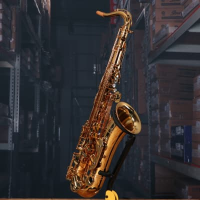 Cannonball ASCEP-L Sceptyr Semi-Pro Tenor Sax in Gold Laquer with Case