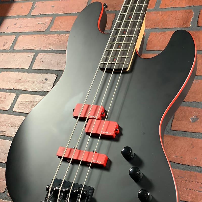 esp ltd frank bello anthrax fb j4 signature bass guitar with reverb. Black Bedroom Furniture Sets. Home Design Ideas