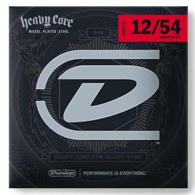 Dunlop Heavy Core 12-54 Heaviest Electric Guitar Strings