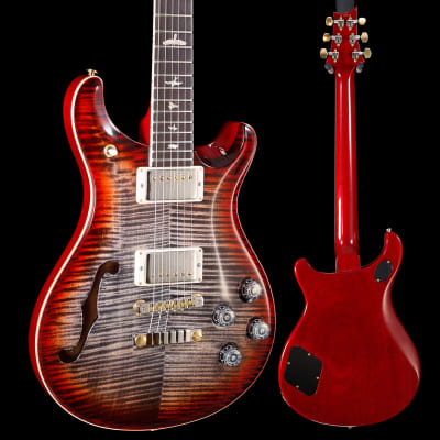 PRS Paul Reed Smith Ltd McCarty 594 Semi-Hollow 10 Top Charcoal Cherry 6lb 9.6o for sale