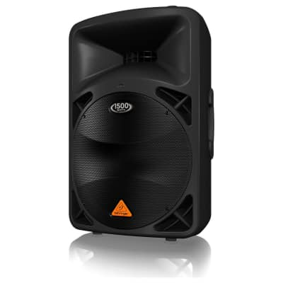 """Behringer Active 1500-Watt 2-Way PA Speaker System with 15"""" Woofer and 1.75"""" Titanium Compression Dr"""