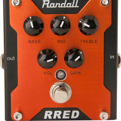 Randall RRED Classic Distortion Guitar Pedal, Free Shipping for sale