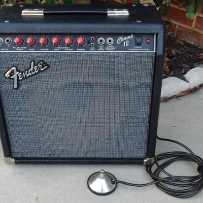 1988 Fender Champ 12  Tube Guitar Combo - Single 12