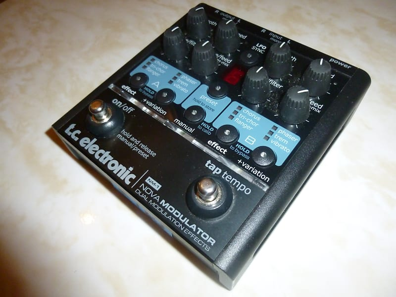 Tc electronic nova modulator nm1 | tlcfx tim's gear | reverb.